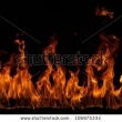 Stock Photo Fire Flames Background 135059156