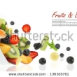 Stock Photo Apples And Orange Fruit Isolated 128628800